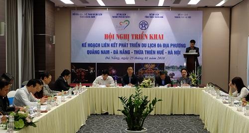 Tăng cường liên kết phát triển du lịch Quảng Nam – Đà Nẵng – Thừa Thiên Huế - Hà Nội